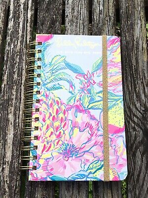 New Lilly Pulitzer Fiesta Bamba Medium 17 Month Agenda