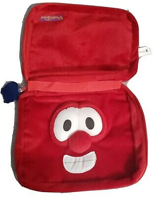Veggie Tales Bible Cover Carrying Case Tote Bob Soft Zonder Kids