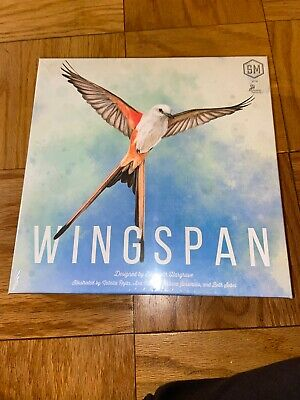 Wingspan Board Game 2019 STM910 With Swift Start Pack
