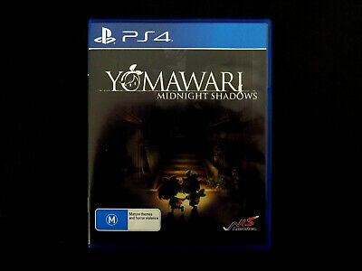 Sony Playstation 4 PS4 Yomawari Midnight Shadows Video Game, Australian Release