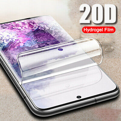 20D Full Cover Screen Protector Hydrogel Film For Samsung Galaxy S20 Ultra Plus