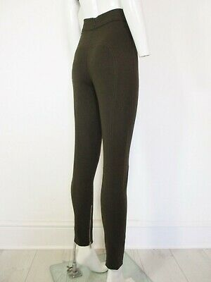 Stunning Womens Alexander Mcqueen High Waist Stretch Wool Trousers 36 Uk 6 £575