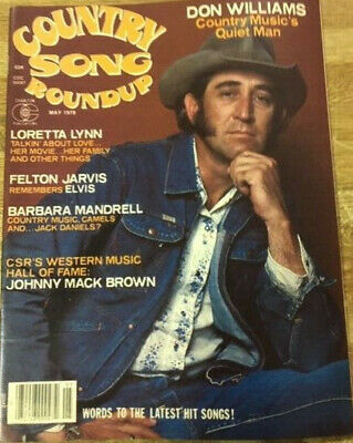 MUSIC MAGAZINE Country Song Roundup Don Williams Lot 84