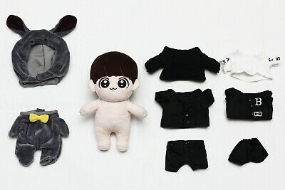 BTS Jungkook Fansite 20cm Plush Doll Complete Collection
