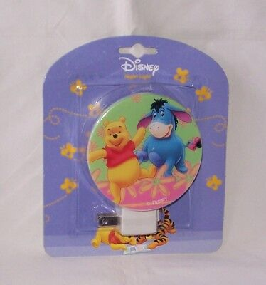 "Rare Disney ""100 Acre Wood"" Word Search Pooh Switch Night Light Fast Free Ship"