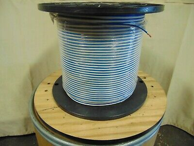 2,000' Roll Spool 12 AWG 2 Conductor Wire Blue White