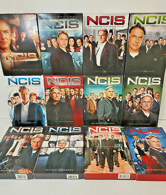 NCIS Naval Criminal Investigative Service Complete Seasons 1-9, 11 & 12 - DVD