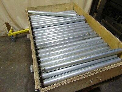 68 Pcs Gravity Roller Conveyor Rollers - Build Your Own Conveyor - Replacements