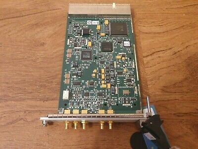 National Instruments NI PXI-5404 Frequency Source / Clock Generator excellent!
