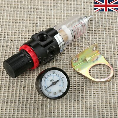 AFR-2000 Airbrush Compressor Pressure Regulator Water Trap Filter Gauge Supplies