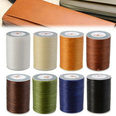 78m 0.8mm Waxed Cord Thread String Line Sewing Leather Hand Wax Stitching *AU