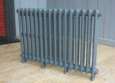 Victorian 2 Column Cast Iron Radiator to Go 16 Sections Long - Next Day Delivery