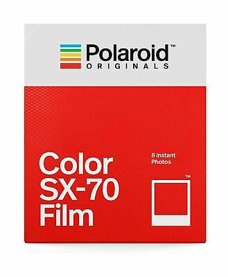 Polaroid Originals Color Film for SX-70 (4676) Single/ Classic White Frame