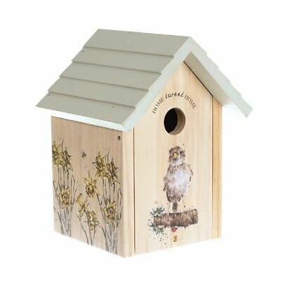 Wrendale Designs Sparrow Bird House/Nest Box