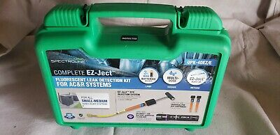 Spectroline OPK-40EZ/E Leak Detection Kit, Multi-Dose, EZ-Ject
