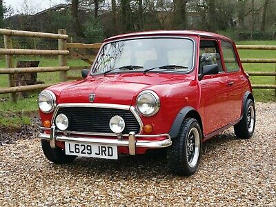 Classic Mini Sprite On Just 9400 Miles From New!!