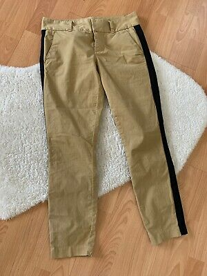 NEW  J.Crew Women's Beige Khaki Skinny Ankle Andie Chino Pants Trousers SIZE 2