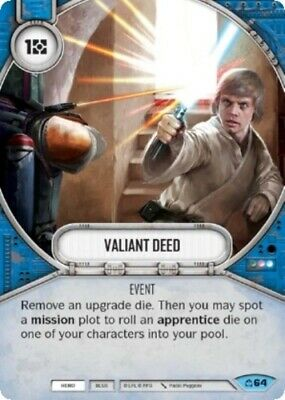 x2 As One 93 Common Star Wars Destiny Covert Missions M//NM