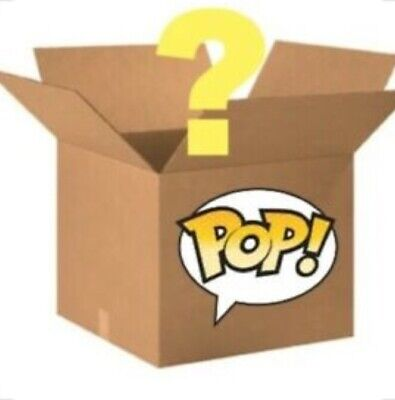 Funko Pop Mystery Box! 33%+ Chance at getting a chase or exclusive! Act fast!