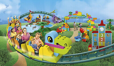 Legoland tickets £20 each 6 available Saturday 18th April