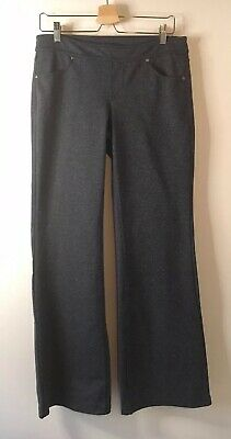 Athleta Bettona Classic Pants Gray 819227 Women's Medium Yoga Pants Casual Comfy