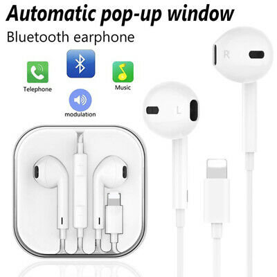 For Apple iPhone 7 8 Plus X XS XR 11 Pro Wired Headphones Headset Earbud Headset