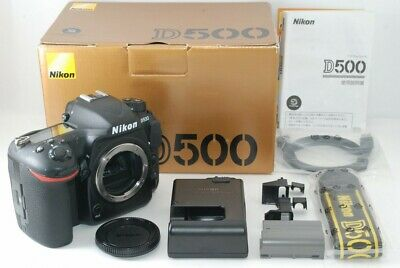 Nikon D500 Digital SLR Camera Body from Japan Very Good!! 20036271