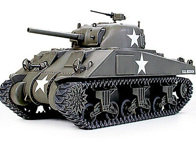 Matchbox Kit di Montaggio 1:35 40712 SHERMAN M4 A1 76mm GUN Tank MIB 1993