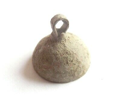 IRON AGE Ancient CELTIC Druids Bronze Bell AMULET / TALISMAN  Hallstatt culture
