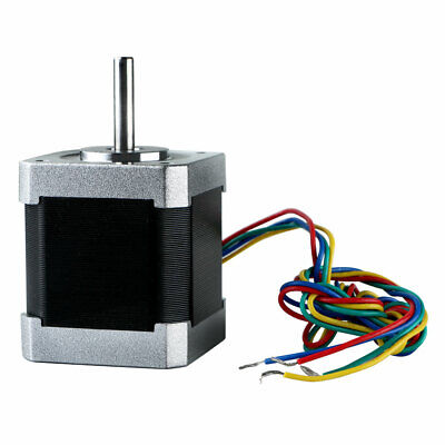 New Nema 17 Hybrid Stepper Motor 48mm 2-phase 12V 2.5A For 3D Printer CNC