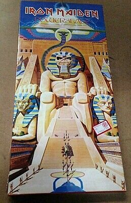 Iron Maiden ‎– Powerslave  - CD LONGBOX USA 07777460452   - SELEAD MINT  RARE