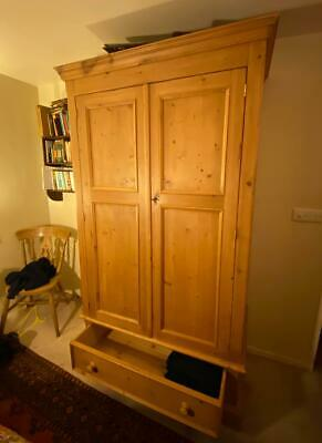 STUNNING Oak farmhouse industrial wardrobe-- SOLID QUALITY Do not miss!