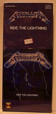 Metallica ‎– Ride The Lightning   - CD LONGBOX USA  075596039628 - SEALED   MINT