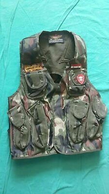 Syrian Army reissue camouflage woodland assault vest ammo vest 2a