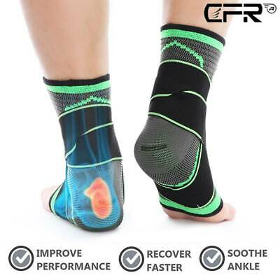 CFR Achilles Tendonitis Ankle Sleeve Brace Arch Support Wrap Sprained Heel Spur