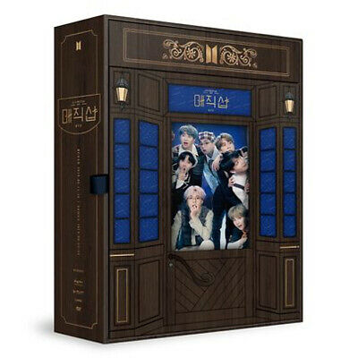 BTS MAGIC SHOP 5TH MUSTER FAN MEETING DVD 4DISC+Photo Book+Pop-up+2p Card SEALED