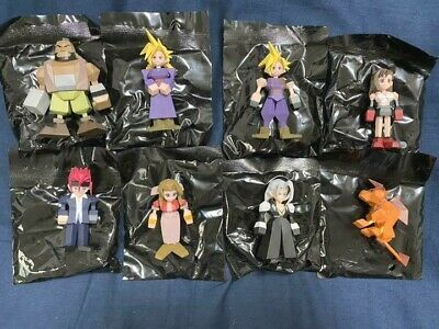 FINAL FANTASY VII 7 REMAKE G Mini Figure All set Release Commemoration Kuji