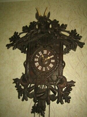Rare Antique Black Forest  Cuckoo Clock