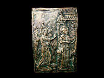 Byzantine Religious Icon, -The Annunciation Of Virgin Mary, Replica!!!