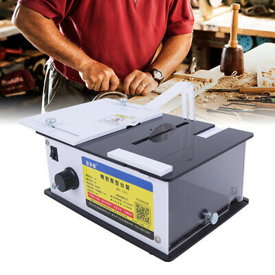 Table Saw Mini Woodworking Bench Lathe Electric Polisher Grinder Cutting T555-1