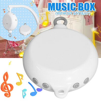 35 Songs Baby Music Box Rattles Bell Toys Kids Bed Hanging Musical Mobile Cot AU