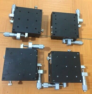 Micro XY Linear Stage x 80x80mm-cross-roller bearing