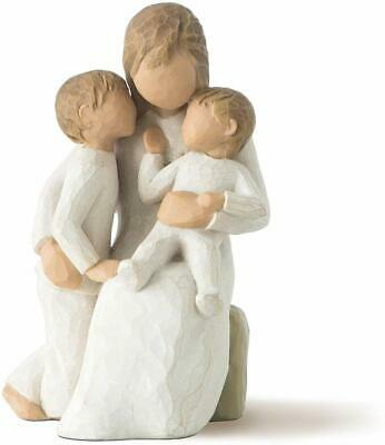Willow Tree Quietly Susan Lordi Ornament Figurine mum son baby mothers day