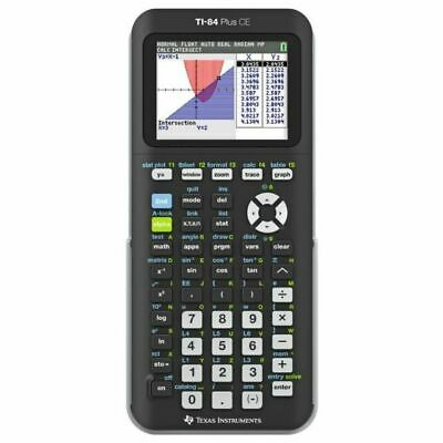 Texas Instruments Ti84 Plus CE Colour Graphing Calculator Ti84plusce