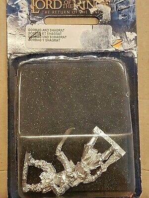 Games Workshop LOTR Lord of the Rings Gorbat and Shagrat Metal GW