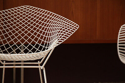 1/4 DIAMOND Lounge Chair Bertoia Knoll Sessel 60er 70er