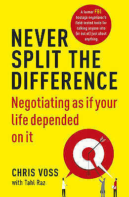 New Never Split the Difference: by Chris Voss ( Paperback) Free Fast Postage