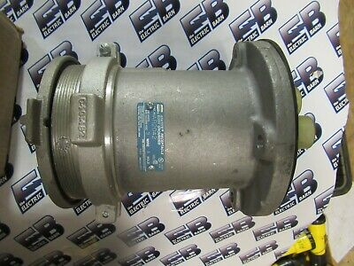 Crouse Hinds AR2042, 200 Amp, 600 Volt, Pin & Sleeve Receptacle, NEW- PS150