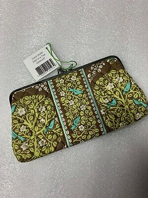 Vera Bradley Sittin in a Tree Wallet DOUBLE KISSLOCK Clutch 4 PURSE Tote Bag NWT