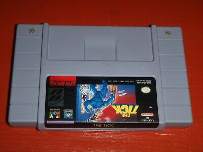 The Tick (Super Nintendo Entertainment System, 1994 SNES) -Cart Only